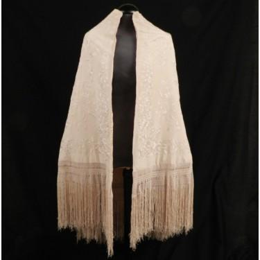Capa mantón de Manila 130 x 234 cm #B0601