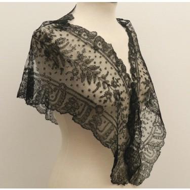 Manteleta de encaje para señorita 50 x 132 cm #A1002