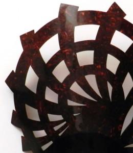 Peineta antigua (España o Argentina) 23,8 x 33 cm #E1106
