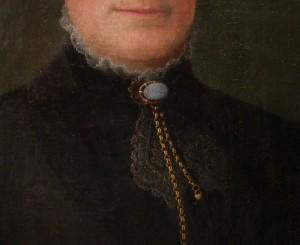 Retrato de Georgeanna M. Vogell Kingsley (?), por Nelson Cook (1808-1892) #G0701