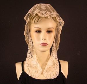 Tocado de novia 24 x 93 cm #A2001