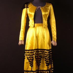 Vestido goyesco para maja #B3103